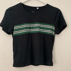 Pacsun New Basics Cropped T-shirt